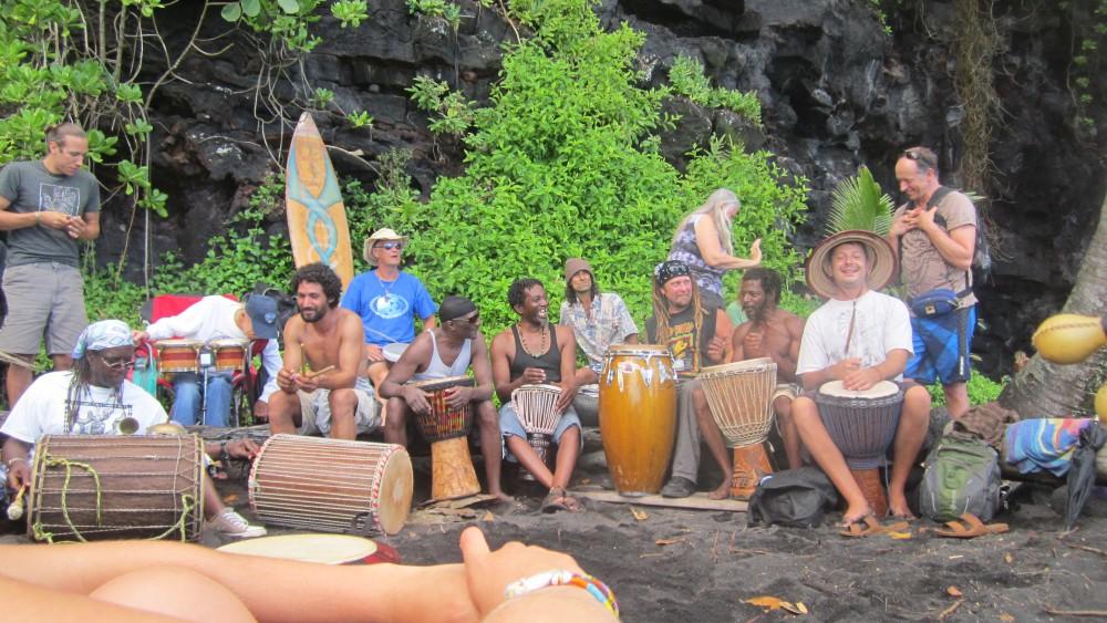 Black Magic at Kehena Beach, Hawaii (2/6)