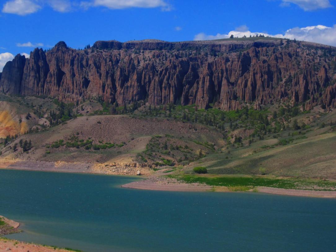Part of Curecanti National Recreation Area