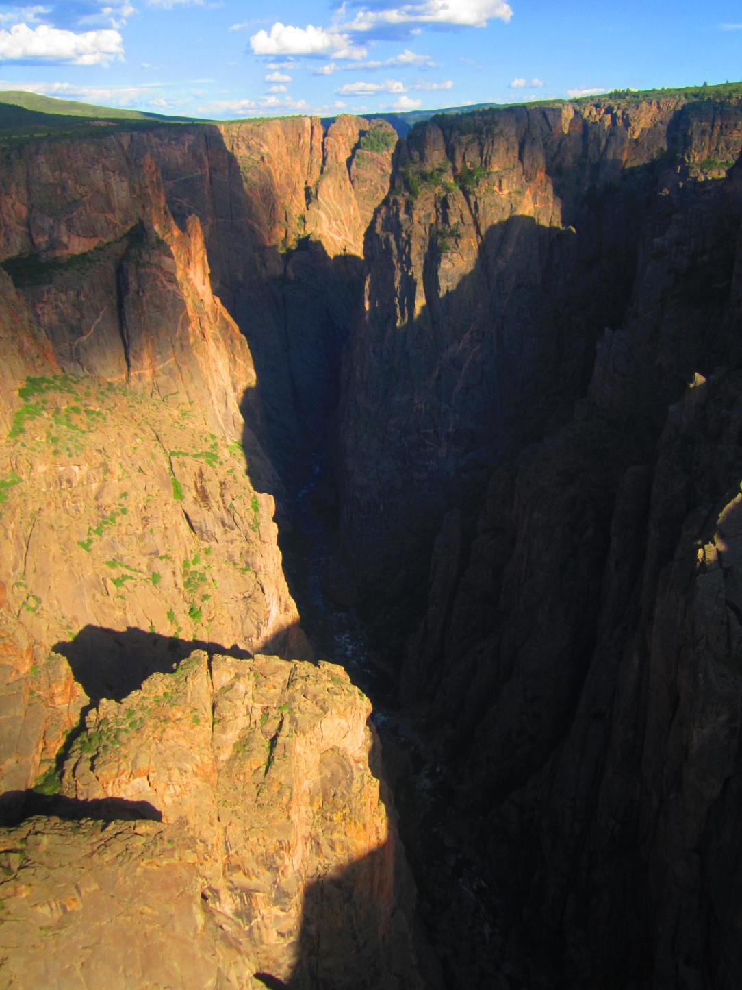 Black Canyon at the Gunnison, North Rim