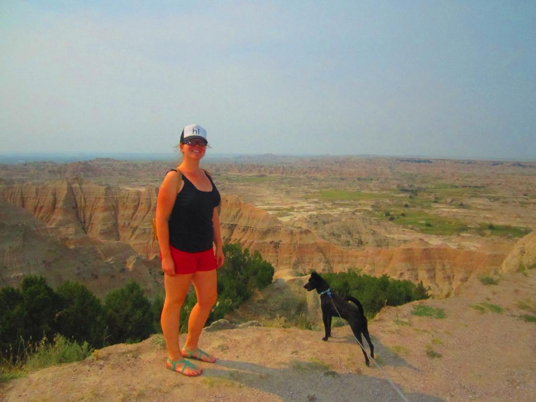 Me and my little Pono, Badlands National Park