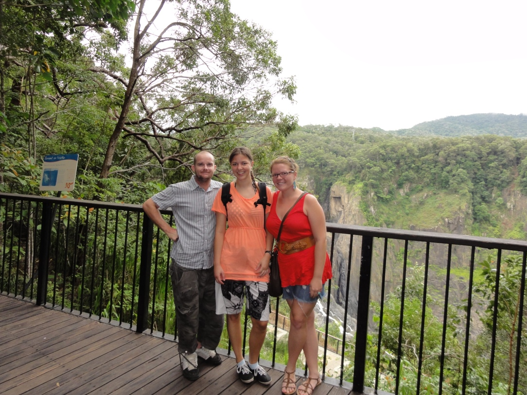 Nevan, Linnea and I at Kuranda