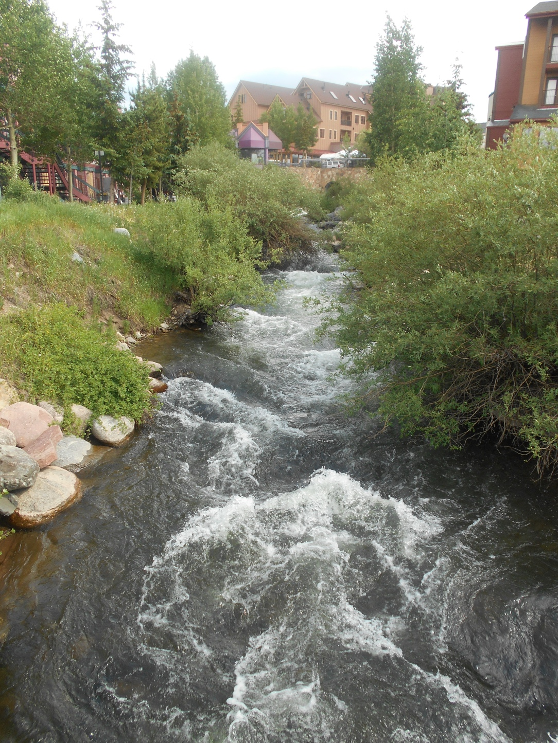 River running through Breckenridge