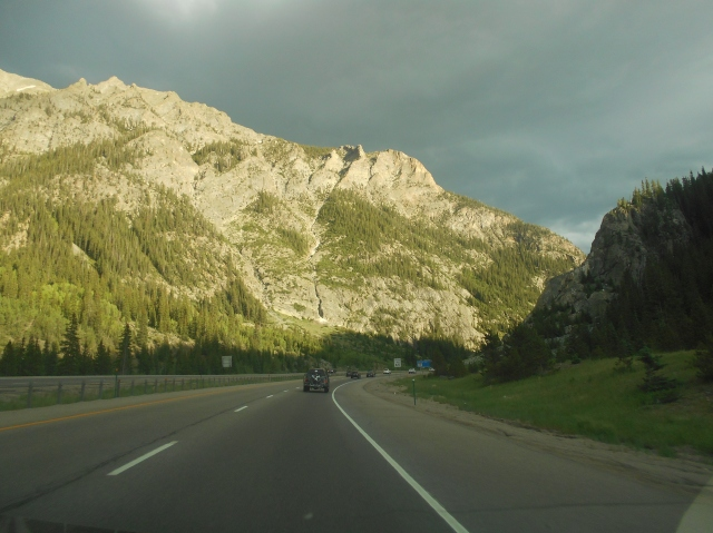 Driving to Vail
