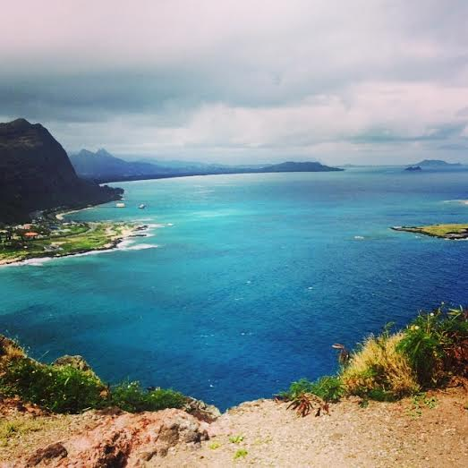 View from the top at Makapu'u Lighthouse Trail