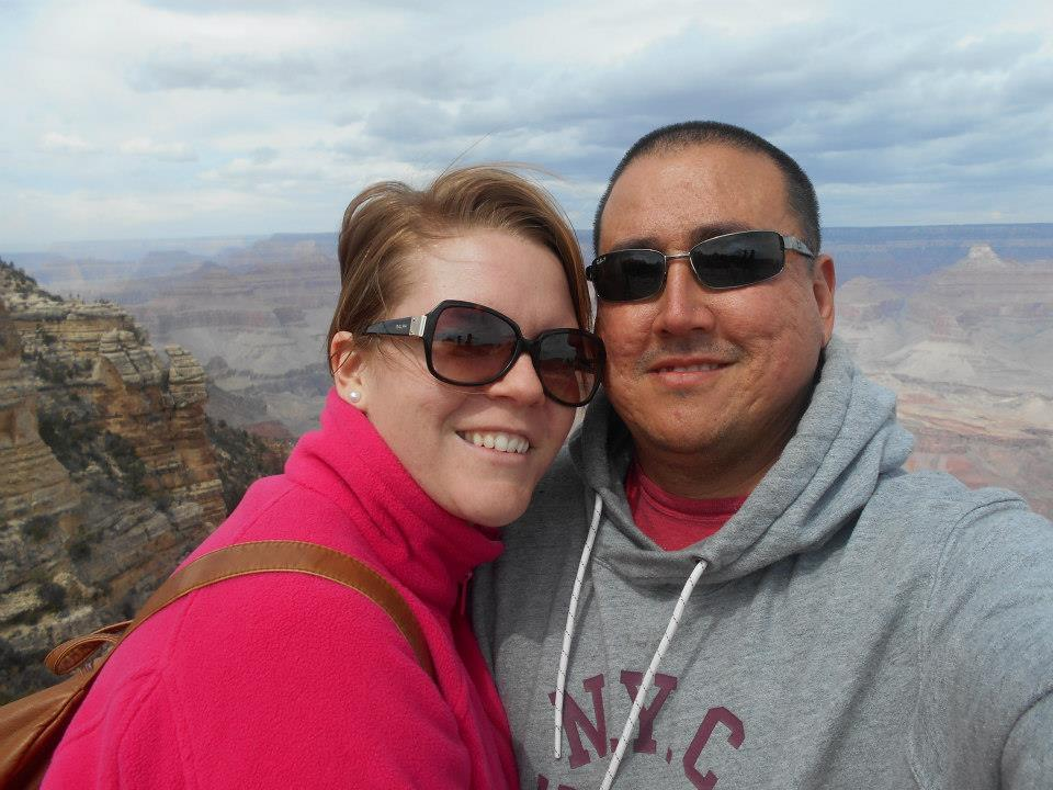 Jonathan and I at the Grand Canyon