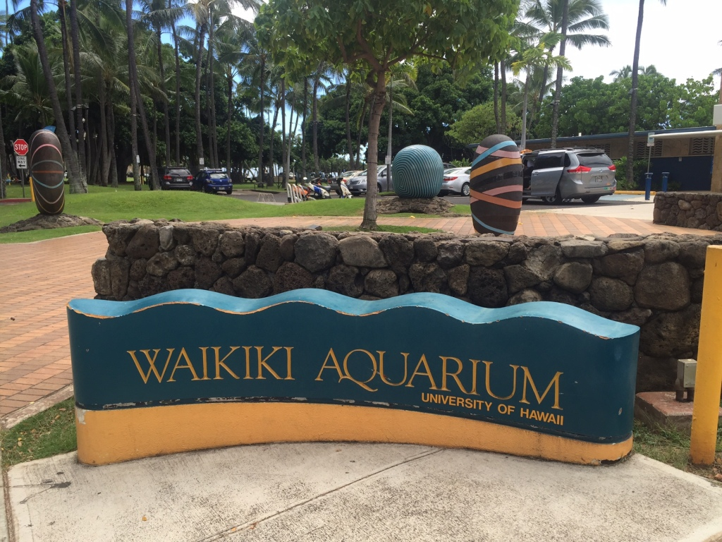 The Waikiki Aquarium is the 2nd oldest public aquarium in the country